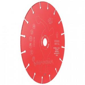Disco diamantato Maxima Rosso Metal