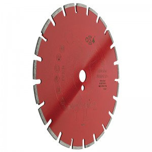 Disco diamantato Maxima Rosso Asfalto