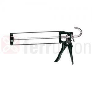 Pistola per silicone acciao e lega