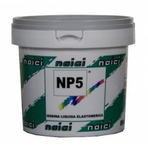 Guaina liquida impermeabilizzante elastomerica NP5 grigia kg.5