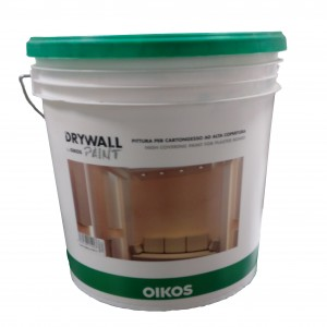 Drywall paint pittura per cartongesso oikos