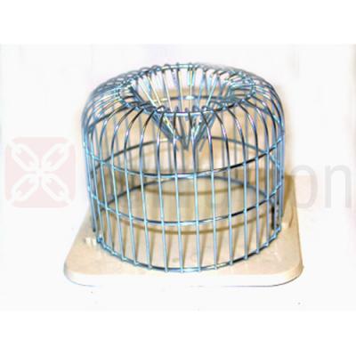 Trappola topi tonda ferro zincocromato cm. 12