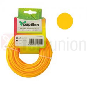 Filo nylon tondo per decespugliatore d. 2,4 mm 15 ml Papillon